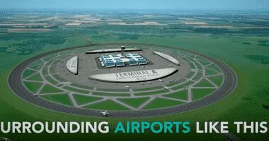 De Nederlandse wetenschapper Henk Hesselink komt met een revolutionair idee: ronde landingsbanen voor luchthavens.