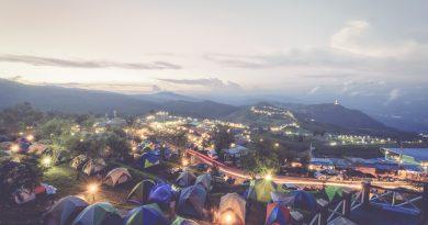 Nooit te oud om op kamp te gaan