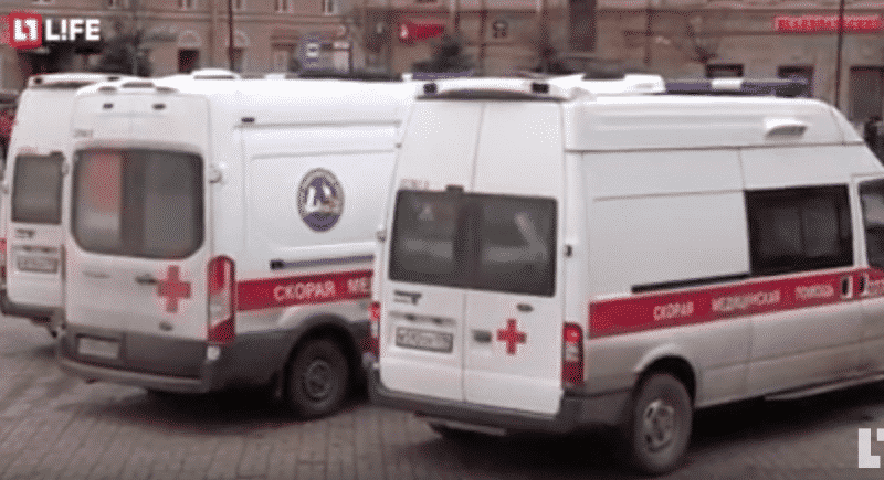 Explosie Sint-Petersburg