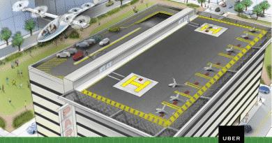 Uber komt in 2020 met vliegtaxi's