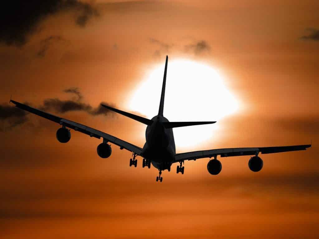 vakantie vliegen