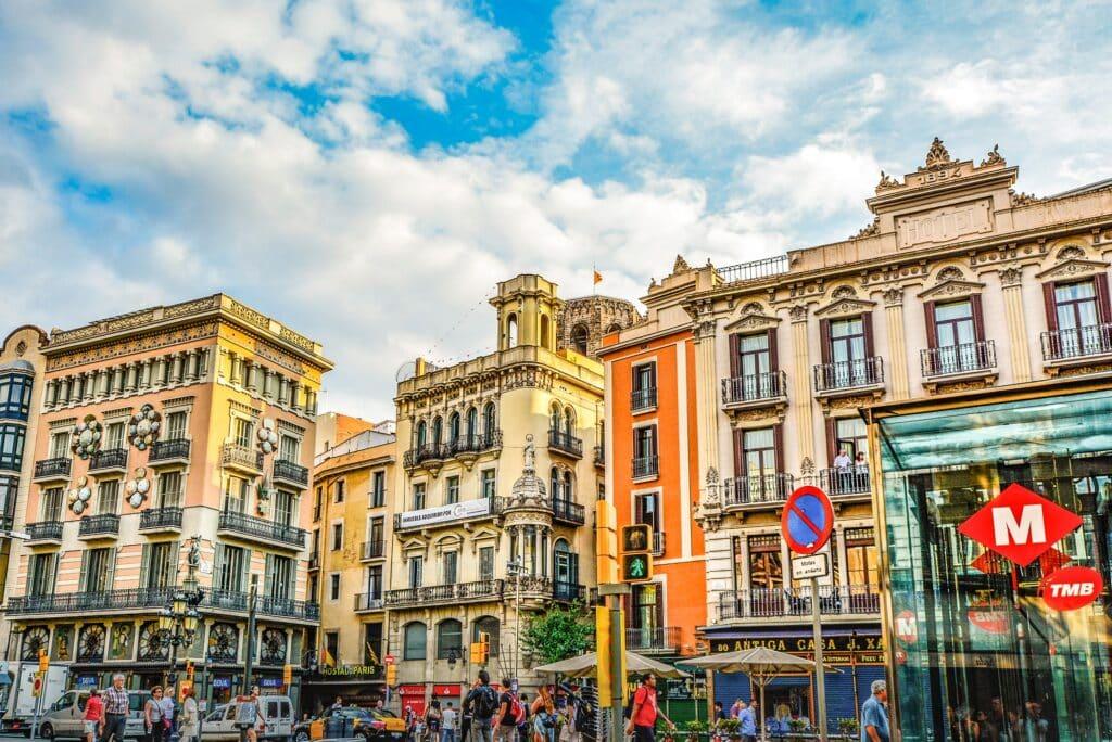 Barcelona architectuur