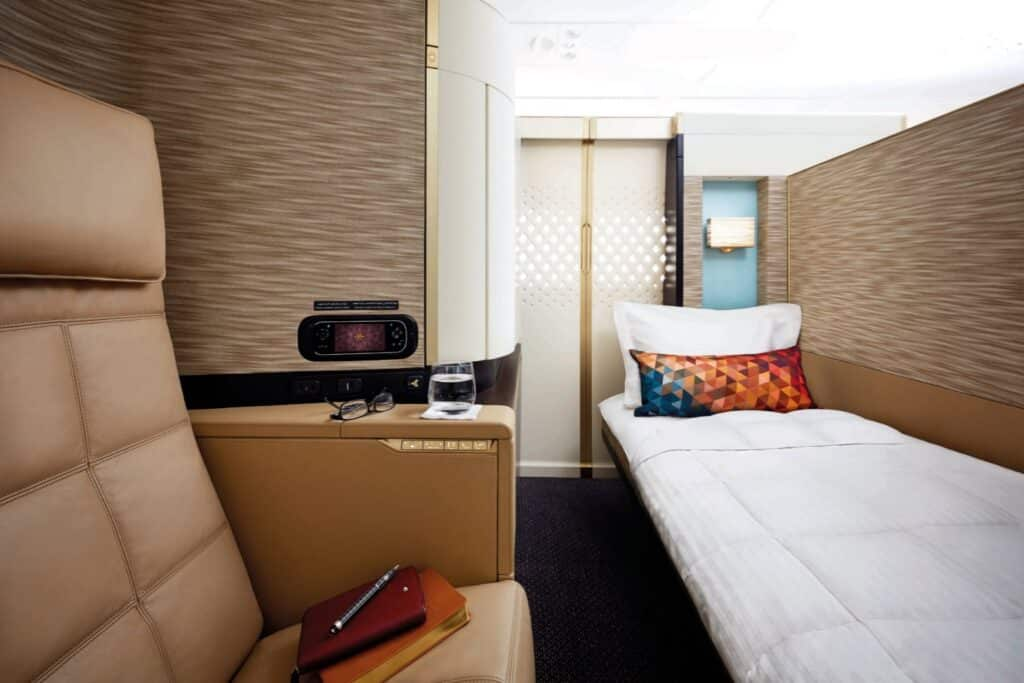 Etihad Airways First Apartment on the A380