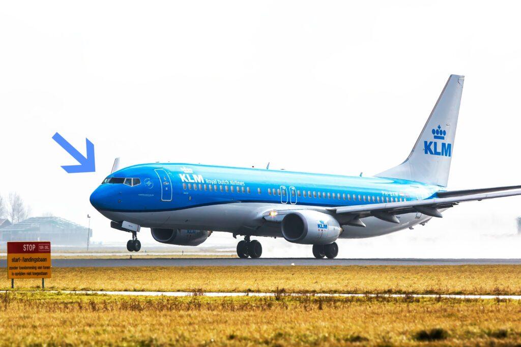 Koning die anoniem vloog voor KLM wordt wereldnieuws