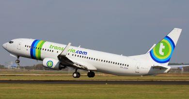 Vliegtuig Transavia keert terug om defecte wc's