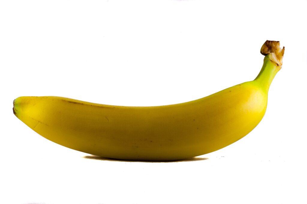 Passagier bestelt glutenvrije maaltijd en krijgt banaan