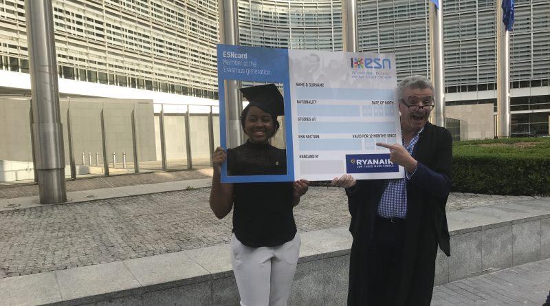 Ryanair start samenwerking met Erasmus Studentennetwerk