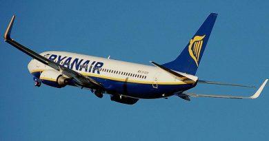 Ryanair: 25% korting op 1 miljoen tickets