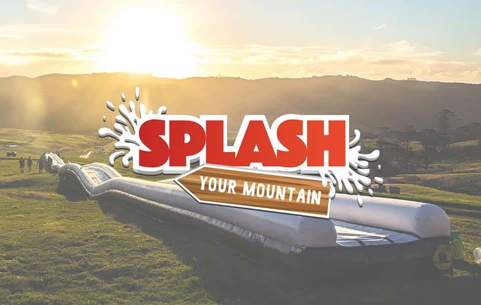 Grootste pop-up waterglijbaan van Europa in Zwitserland