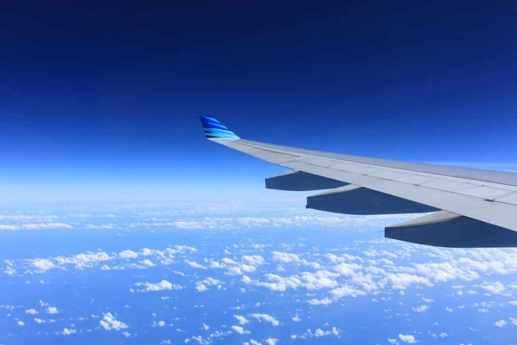 vliegtuig vleugel