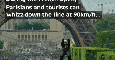 Je kunt deze week ziplinen vanaf de Eiffel toren