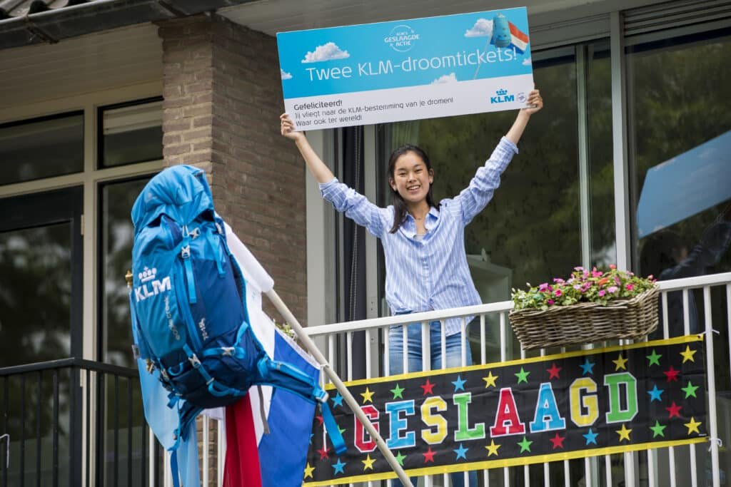 Winnaars KLM Geslaagde Actie bekend