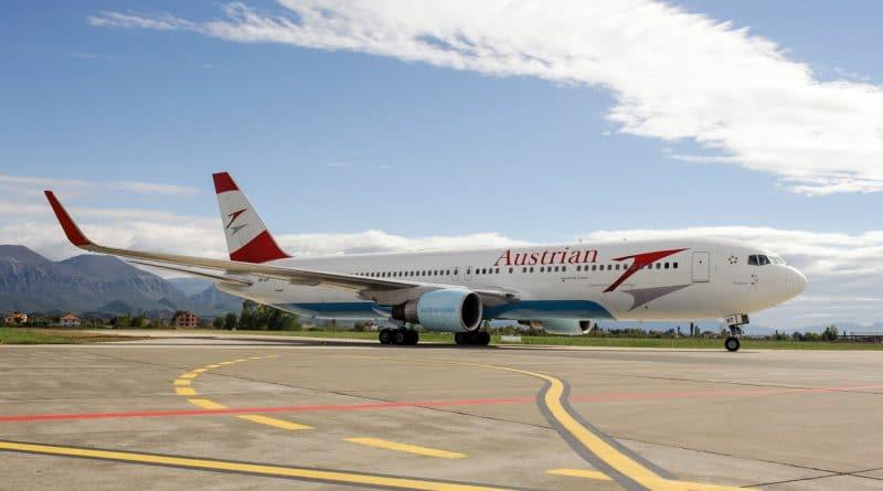 Austrian-vlucht uit Amsterdam maakt noodlanding