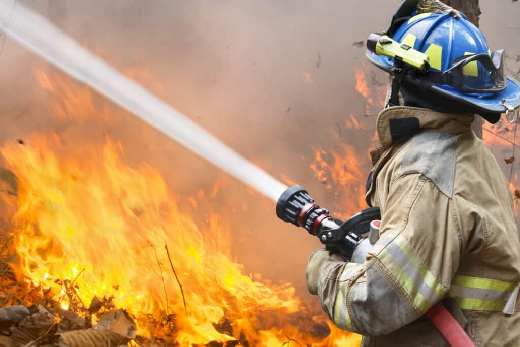 Hevige bosbranden in Zuid-Frankrijk
