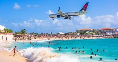 Toeriste omgekomen door jetblast op Sint Maarten