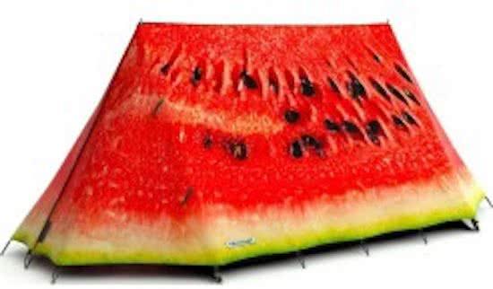 Melon tent
