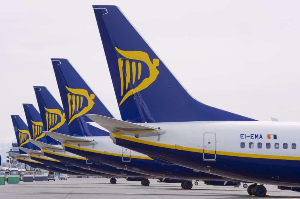 Ryanair verplaatst routes