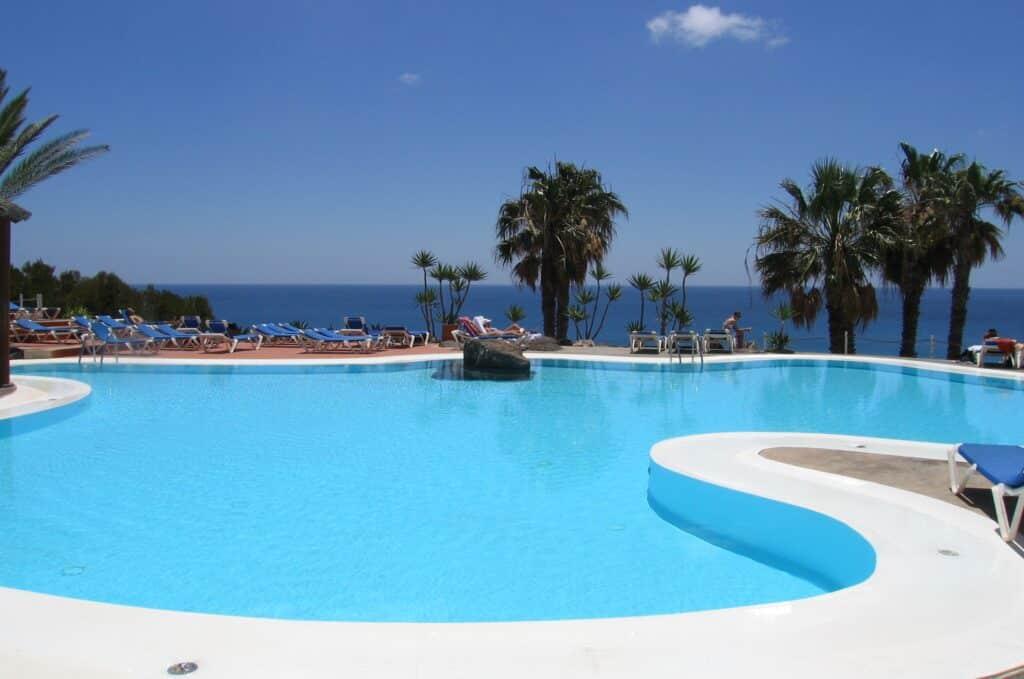 stress in een all-inclusive resort