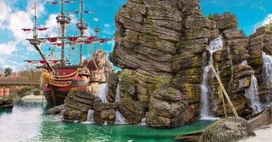 Pirates of the Caribbean attractie is w eer open