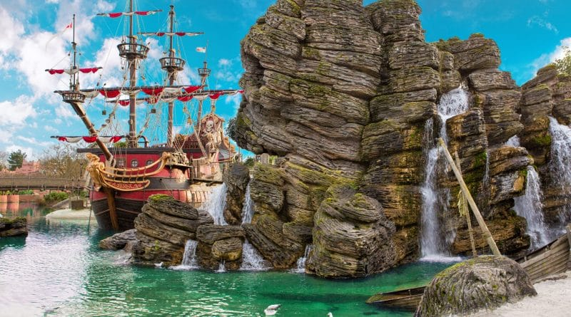 Pirates of the Caribbean attractie is w eer open