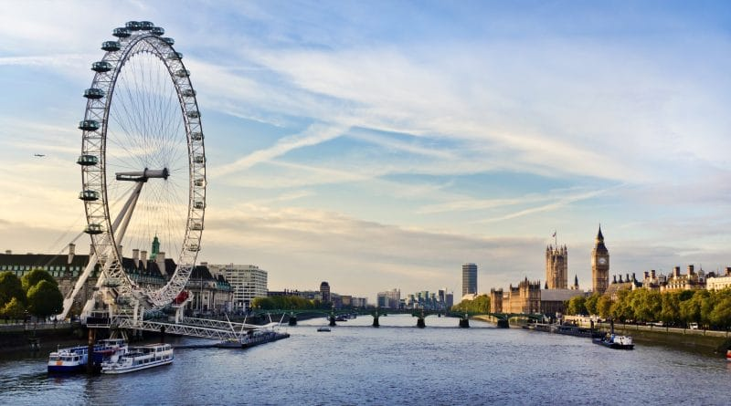 Race boven Londen met supersnelle zipline