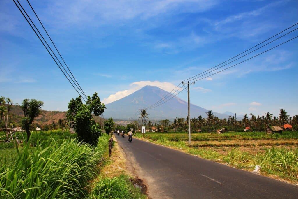Update: dreiging vulkaan Gunung Agung op Bali