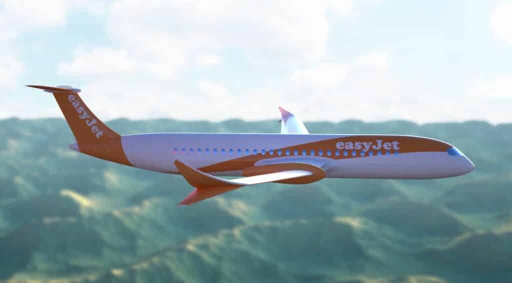 EasyJet ontwikkelt elektrisch passagiersvliegtuig