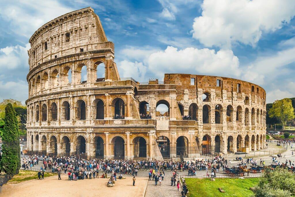 Bovenste ringen Colosseum weer open