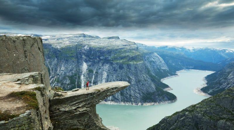 Op winteravontuur in het land van de fjorden