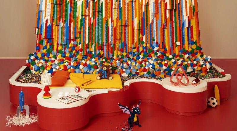 Gratis slapen in een huis gemaakt van LEGO