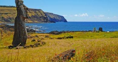 Top 10 unieke bestemmingen: Paaseiland