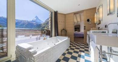 Negen Zwitserse hotelbaden met verbluffend uitzicht