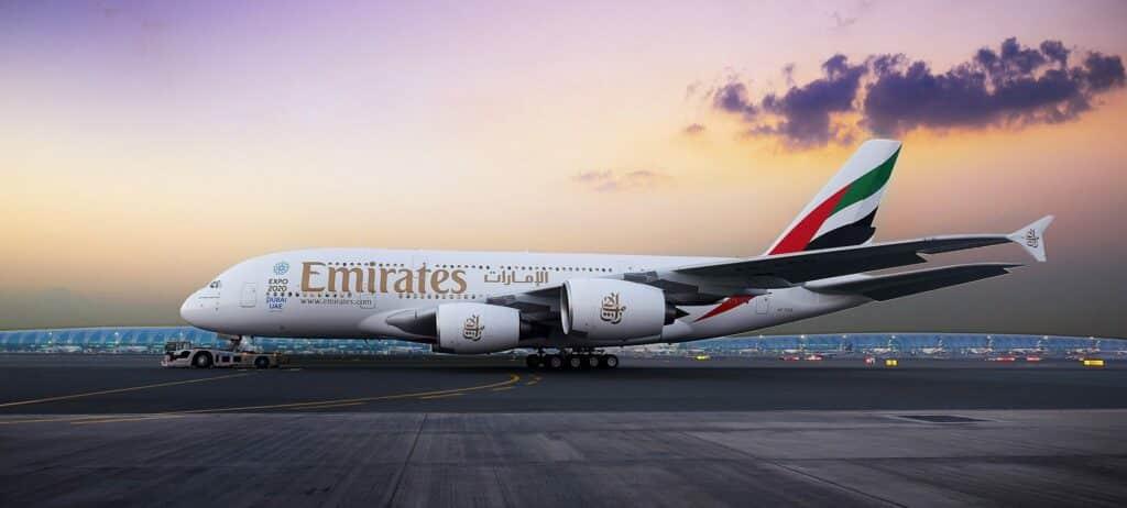 Tickets voor weinig tijdens de Global Sale van Emirates