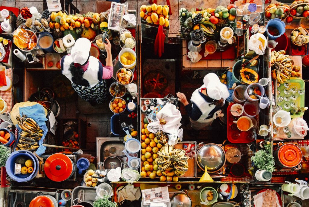2018 wordt het jaar van de 'Travel Foodies'
