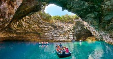 Must-see op Kefalonia: het Melissani grotmeer