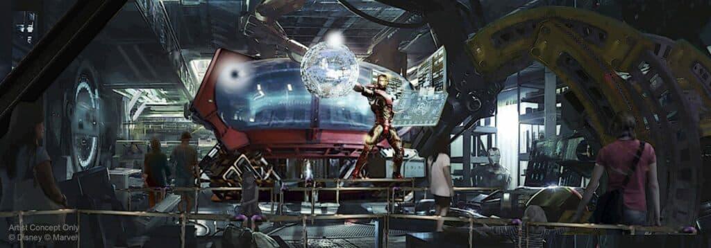 Disneyland Paris onthult plannen nieuwe Marvel-attractie