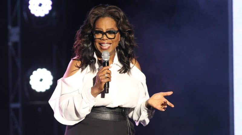 Oprah doopt nieuwste schip Holland America Line