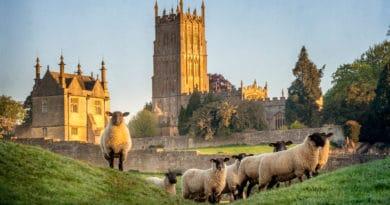 Val voor de charmes van de Britse landschappen