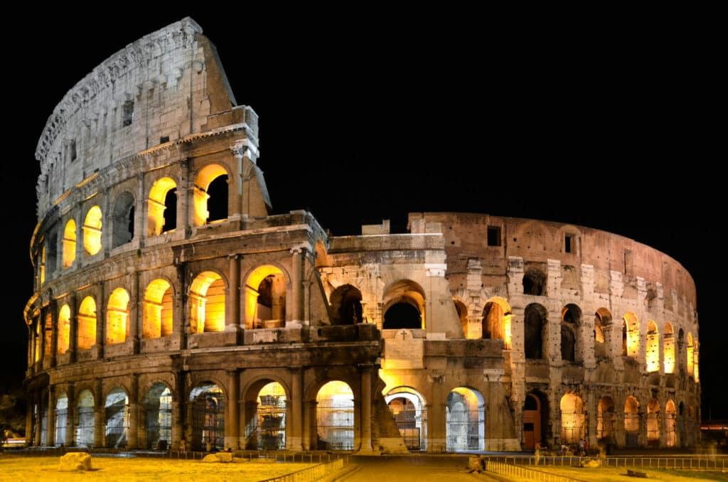 Bezoek het verborgen Colosseum na zonsondergang