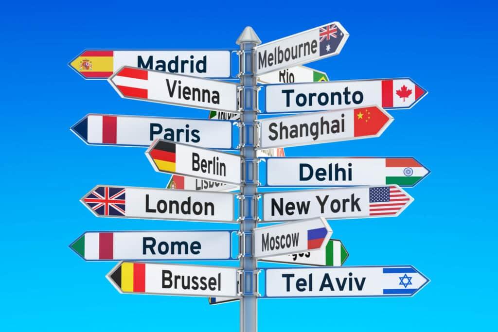 Welke bestemmingen kiezen Nederlanders?