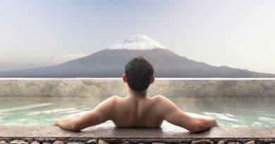Baden in noedelsoep: het kan in Japan
