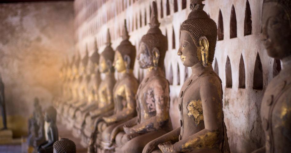 In de voetsporen van Boeddha