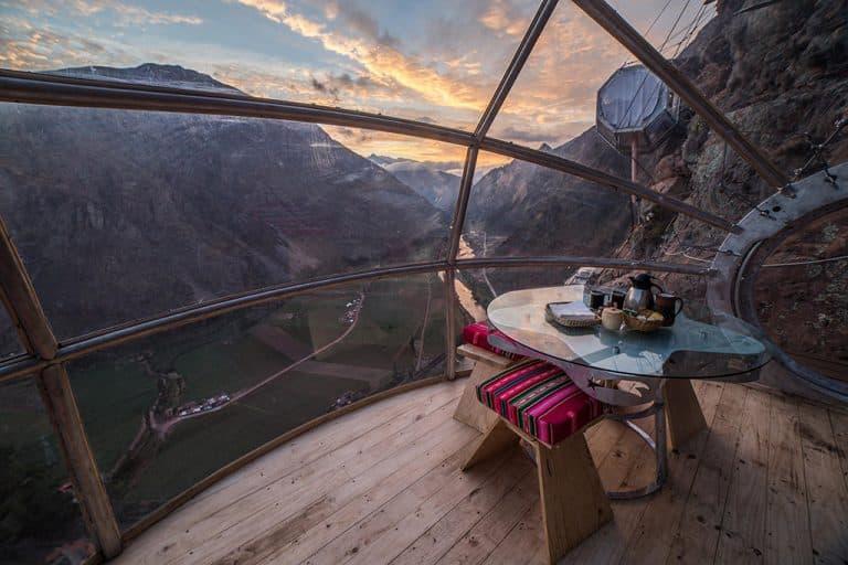 De engste locatie voor een hotel vind je in Peru