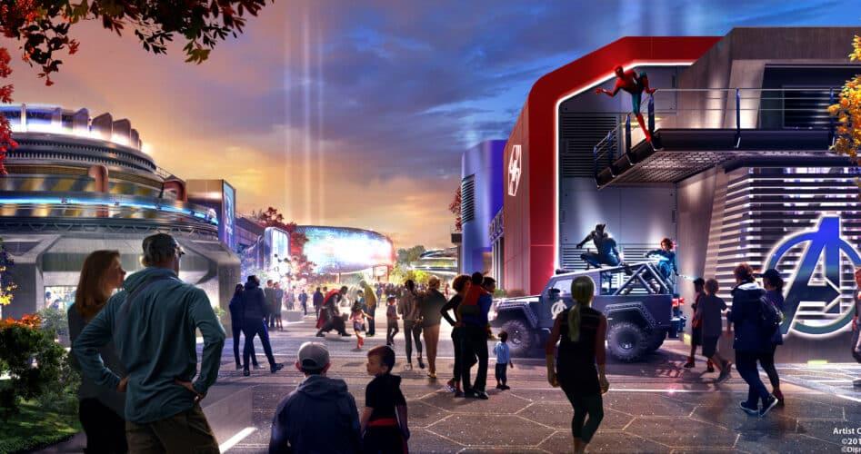 Disneyland Paris toont nieuwe beelden Marvel-themagebied