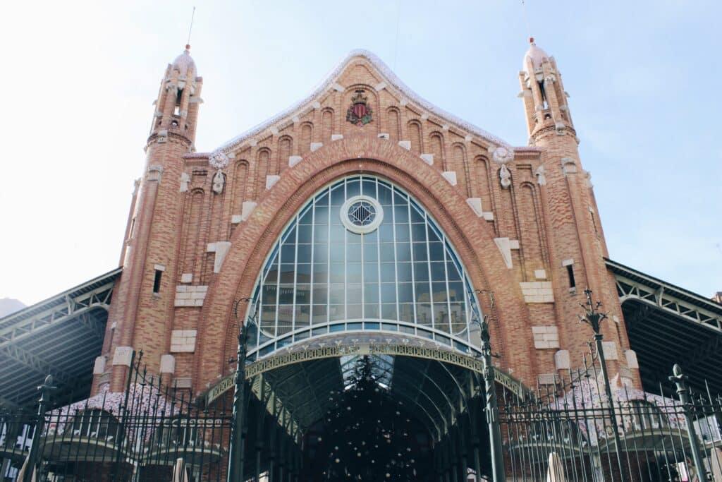 Mercado Colon - voorkant - Valencia