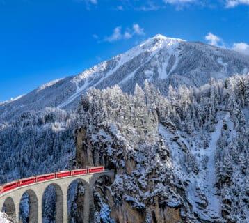 Stap aan boord van de Glacier Express