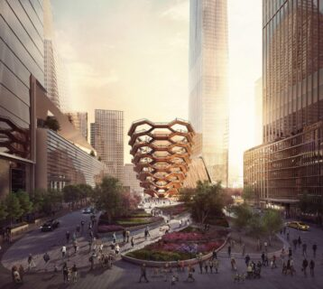 Nieuwe attractie New York: Hudson Yards Vessel is geopend