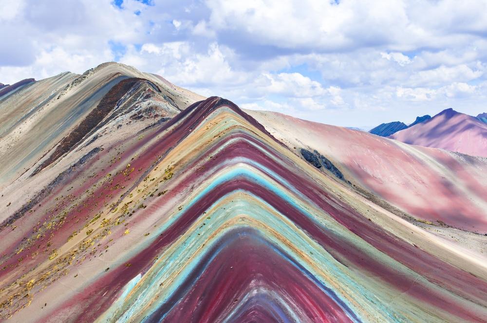 Regenboogberg best bezochte plek van Peru na Machu Picchu