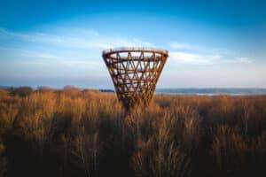 Unieke Deense observatietoren met panoramisch uitzicht geopend