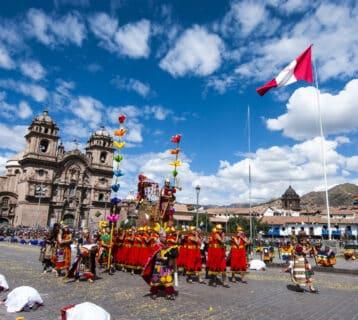 Cusco viert de winterzon tijdens Inti Raymi